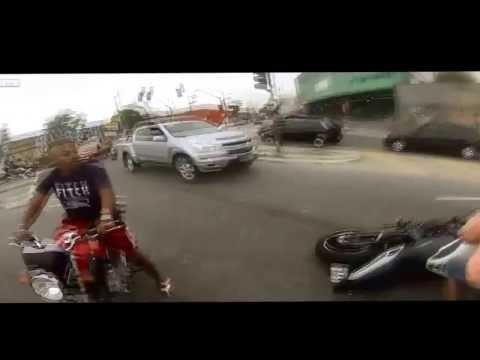 Policial Militar intervém em assalto a motociclista