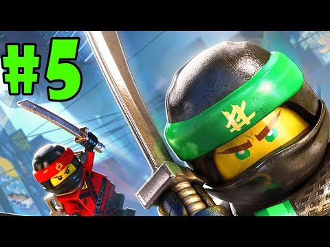 LEGO Ninjago Movie Video Game - Walkthrough - Part 5 - The Uncrossable Jungle (PS4 HD) [1080p60FPS]