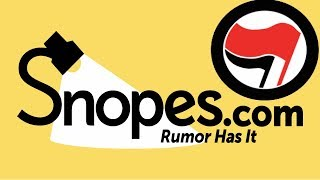 Snopes Defends Antifa, Claims They Aren