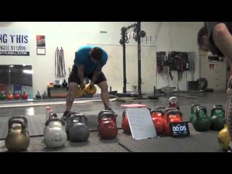 8 minute Intermediate Kettlebell Workout for Conditioning