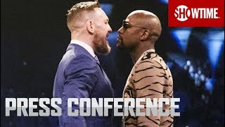 mayweather vs mcgregor london press conference sat aug 26 on showtime ppv