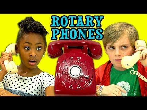 KIDS REACT TO ROTARY PHONES