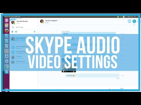How To Adjust Skype Audio and Video Settings - Full Tutorial
