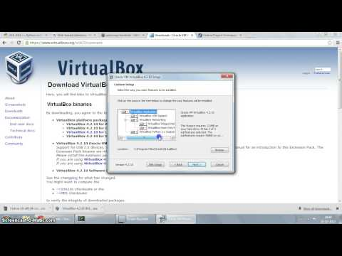 Installing VirtualBox on Windows 7