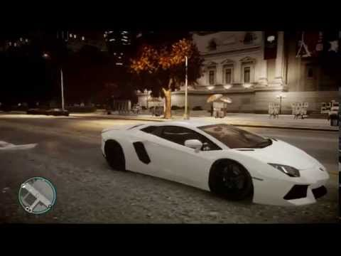 Grand Theft Auto 4 lamborghini aventador lp700