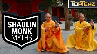 Top 10 MYTHS about the SHAOLIN MONKS