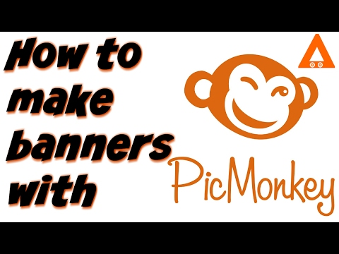 How to make Youtube Banner -  Picmonkey