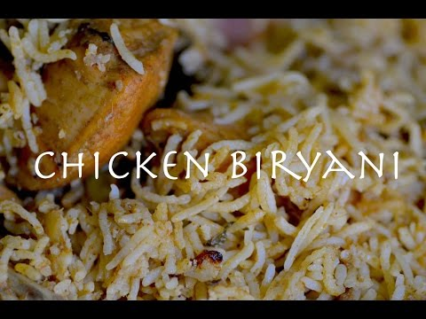 Chettinad Chicken Biryani - Tamil