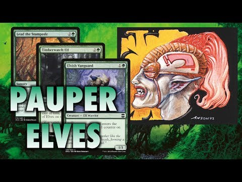 MTG - How To Build Pauper Elves - A Top Tier Deck for Magic: The Gathering