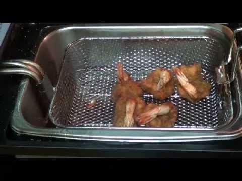 how to fry shrimp