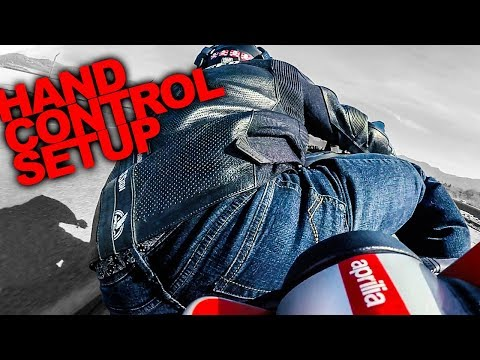 How To Setup Motorcycle Hand Controls