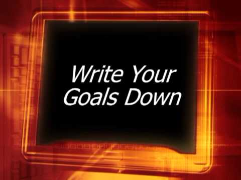 The Brain Unlocked The Importance Of Writing Down Your Goals