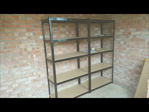 Heavy Duty Shelving Units for a Garage / Shed