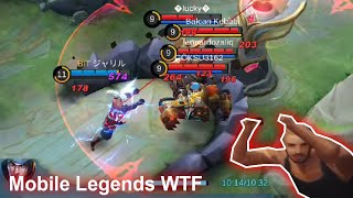 Mobile Legends WTF | Funny moments PRO BADANG