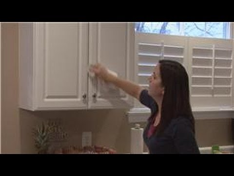 Housekeeping Tips : How to Clean Wood Kitchen Cabinets