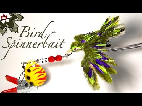 A Bird Fishing Lure - Homemade Lures by Northern Scripture