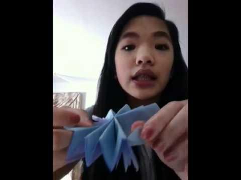 DIY: tissue paper flower