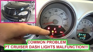 Chrysler Pt Cruiser Dash Lights Instrument Cer On Off Blinking Common Problem Pakfiles