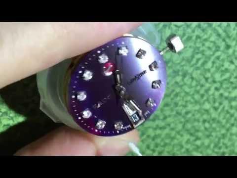Cleaning RADO Diastar iridescent dial diamonds