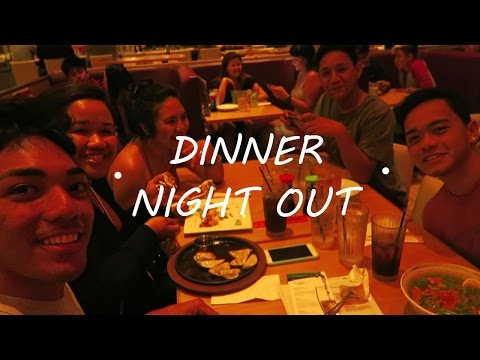 Dinner Night Out VLOG