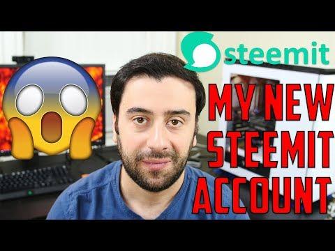 My New Steemit Account
