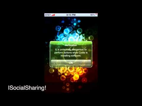 How to Post Pictures on Facebook or Twitter on IPod!