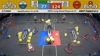 Qual 55 - 2018 SBPLI Long Island Regional #2