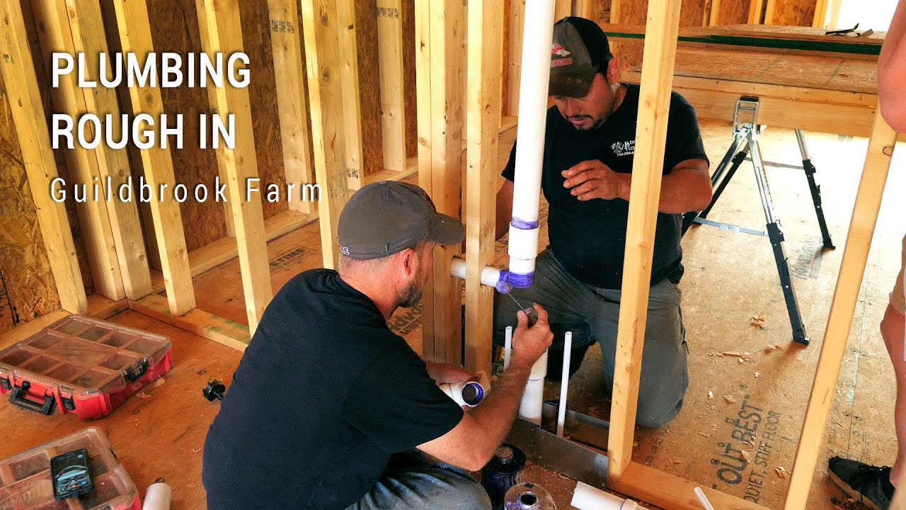 ICF Mountain Homestead: Plumbing Rough In