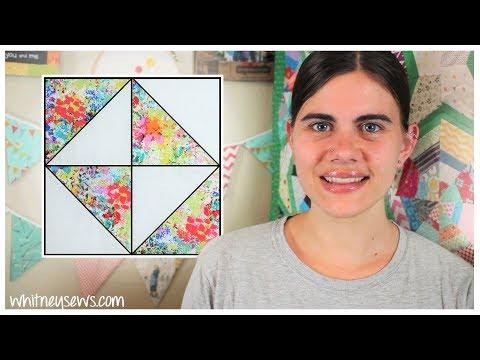 Broken Dishes Block | Sampler Sew Along | Whitney Sews