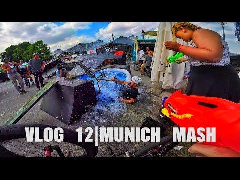 Extreme sports festival in Germany |Vlog 12 | Munich Mash 2017