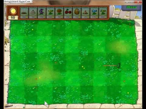 Plants Vs Zombies - All of the cheat codes (Without using Cheat Engine)