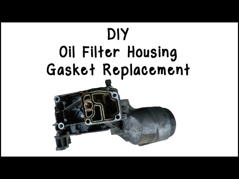 E46 Oil Filter Housing Gasket Replacement DIY