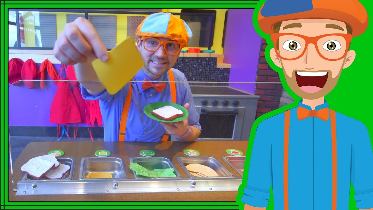 Blippi Learns at the Children's Museum   Videos for Toddlers