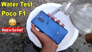 POCO F1 Water Test😳 - Will It Survive or Dead???