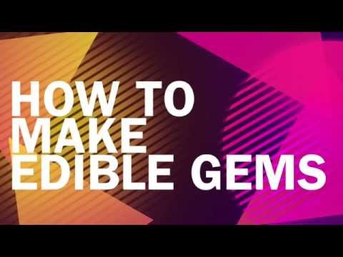 How to make edible gems    without isomalt