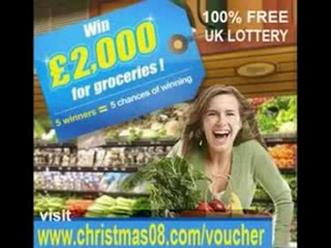 £2000 Groceries Vouchers Coupons FREE
