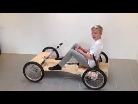 How to Make a Car Without a Motor With Simple Tools at Home 2016 YOUTUBE