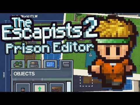 The Escapists 2 - Prison Editor (Make Your Own Jail!)