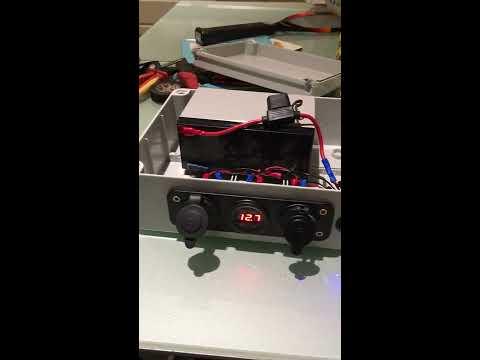 How to make a basic bivvy power box