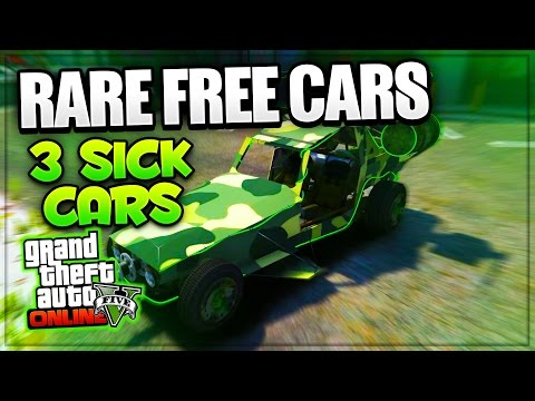 GTA 5 Online: 'RARE CARS FREE LOCATIONS 1.38' GTA 5 SECRET VEHICLES! (PS4, Xbox One, PS3, Xbox 360)