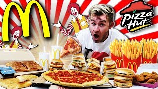 Download THE ULTIMATE McPIZZA FAST FOOD CHALLENGE! (15,000+ CALORIES) Video