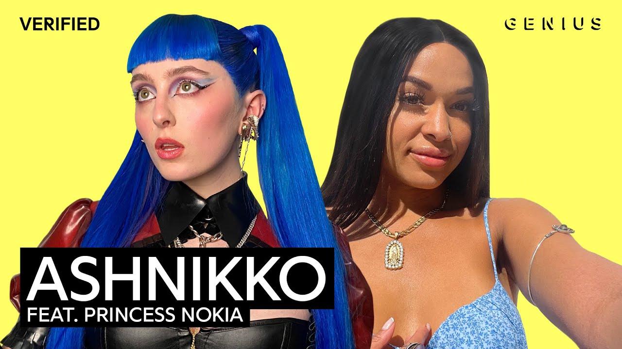 "Ashnikko Feat. Princess Nokia ""Slumber Party"" Official Lyrics & Meaning | Verified"