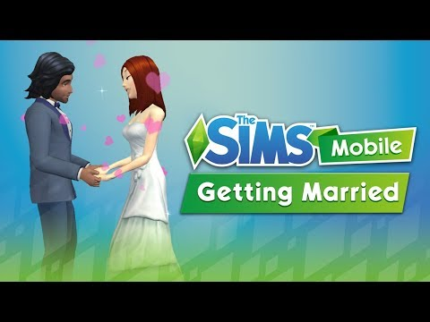 Proposing and Getting Married in The Sims Mobile