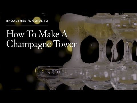 How to Make a Champagne Tower