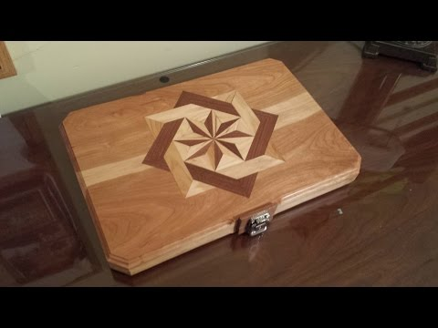 Build this Awesome Wooden Inlayed Laptop Case for your Computer