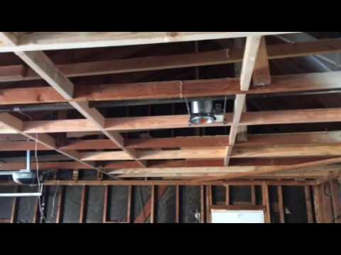 Garage Ceiling Framing by Crown Construction / FREE ESTIMATES / 818-974-3210