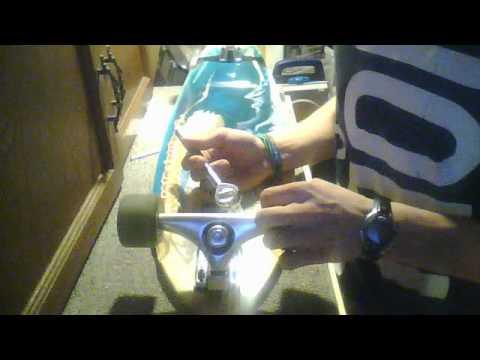 How To loosen your longboard trucks, wheels!!!