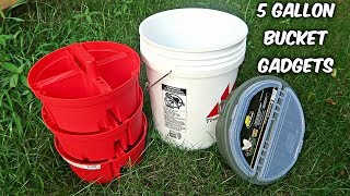 5 Gallon Bucket Gadgets put the Test!