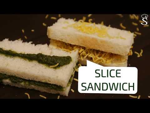 Two Type of Slice Sandwich | Chutney Slice Sandwich | Bread Butter | Nasta Recipe for Kids Lunch Box