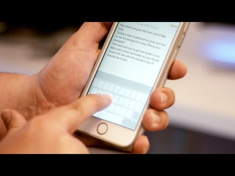 Use your iPhone's keyboard as a trackpad with 3D Touch | Quick Tips